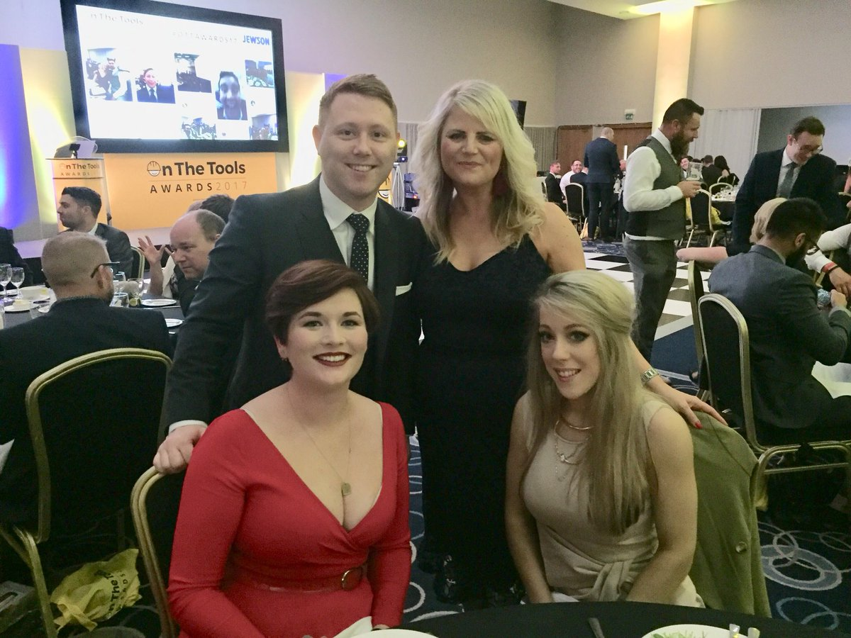 The Norbord team at On The Tools Awards 2017 #OTTAwards2017 pic.twitter.com/h5ZO7EQ8KP