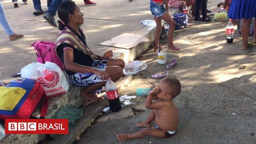 Conheça o drama dos warao, povo indígena que enfrenta miséria e desnutrição ao fugir da Venezuela ao Brasil https://t.co/Ws5HUnNaeW