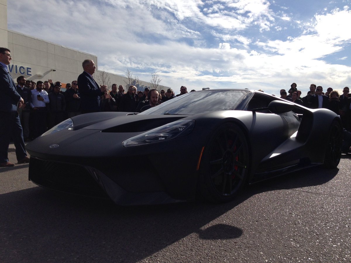 Phil Darlington On Twitter And Here It Is Regina Yqr Has A Ford Gt Capitalford Ctvregina Ctvreginalive Sk