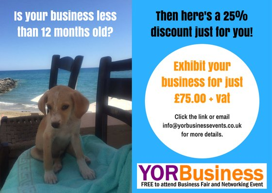 Special offer for new businesses!  http://www. yorbusinessevents.co.uk / &nbsp;   #york #leeds #hull #networking #finance #health #property #holidays <br>http://pic.twitter.com/UVeMX0zylu