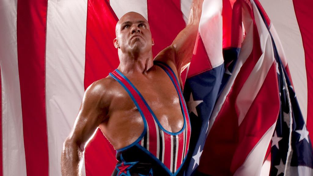 BREAKING: @RealKurtAngle RETURNS to action at #WWETLC replacing @WWERomanReigns; @FinnBalor to battle @AJStylesOrg! https://t.co/RHYlX3HeWX