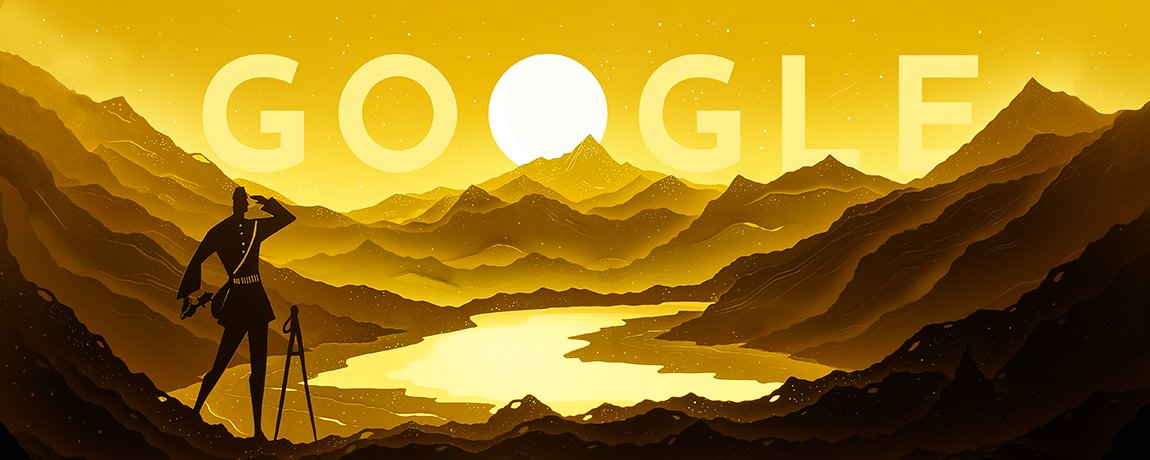 Nain Singh Rawat's 187th birthday #NainSinghRawat #Explorers #India #Knowledge #geographical #GoogleDoodle    https:// youtu.be/U1aghPZMF9A  &nbsp;  <br>http://pic.twitter.com/8A0RKUIlRa