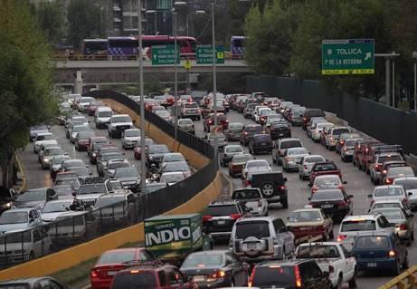 #MeEnloquece tráfico en la CDMX,acabaron...