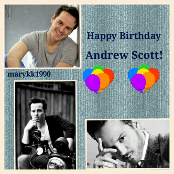 Happy Birthday to the wonderful Andrew Scott!!!