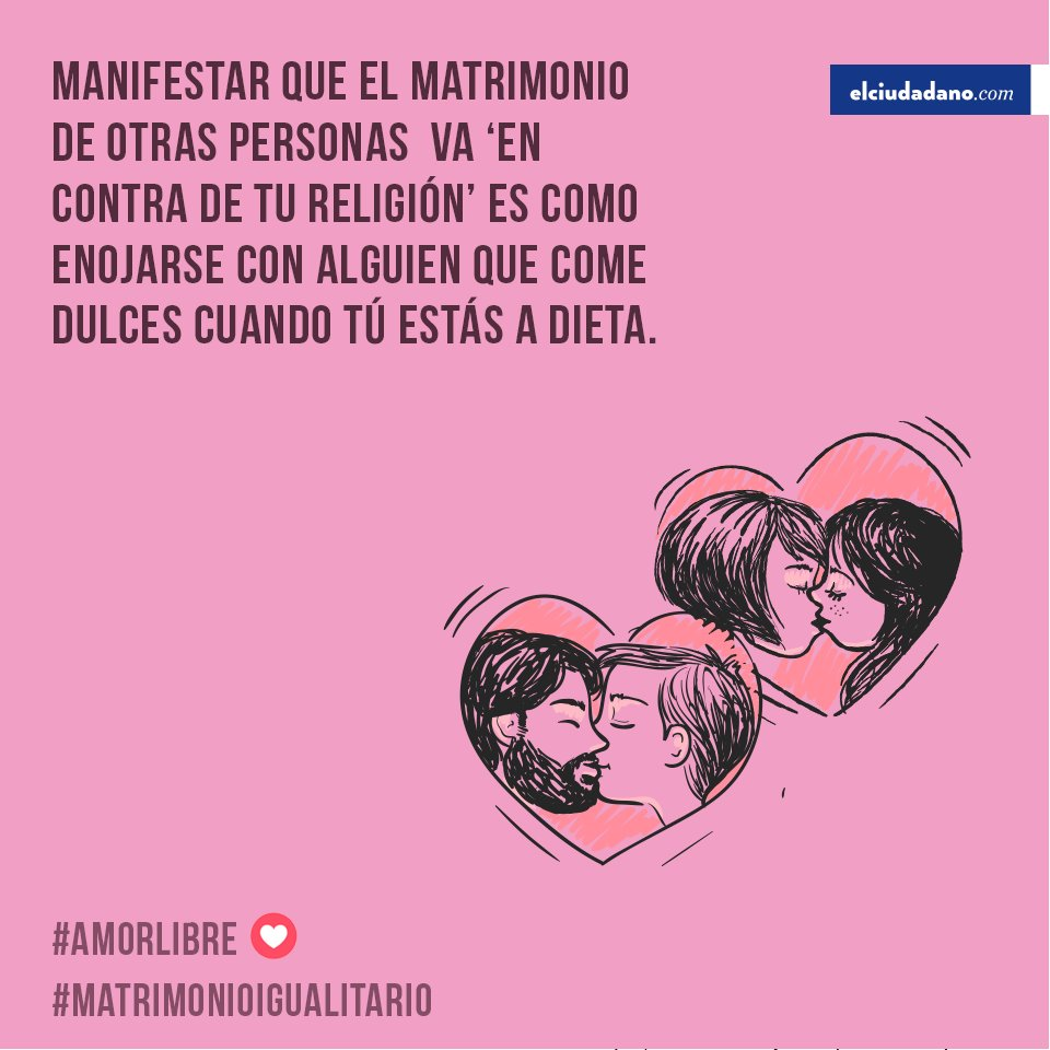 #CitaCélebre #MatrimonioIgualitario Nota...