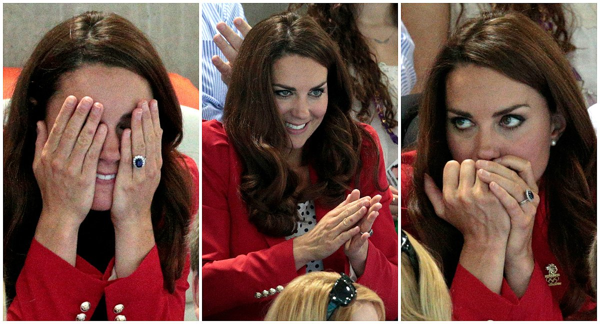 This is why #KateMiddleton won't wear coloured nail polish https://t.co/FbVhvpgNQF  (by @nmlorde ) #princewilliam #princegeorge