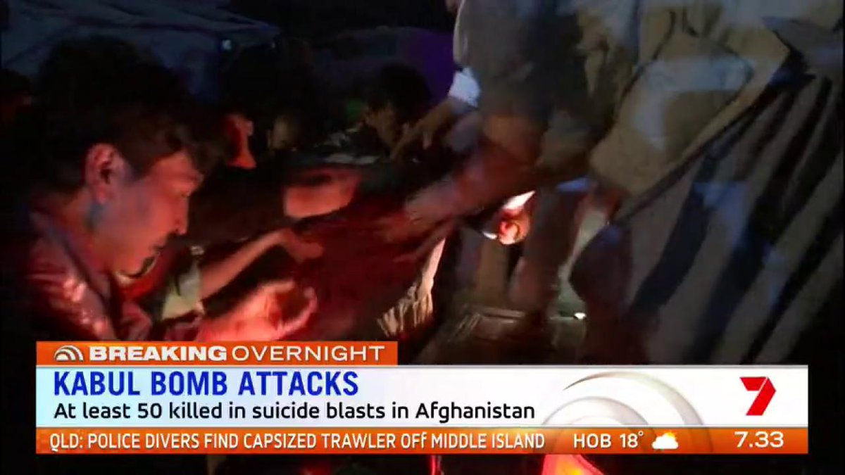 Kabul Bomb Attacks: At least 50 people were killed in suicide blasts in Afghanistan https://t.co/3VH4ydfbnA #sun7