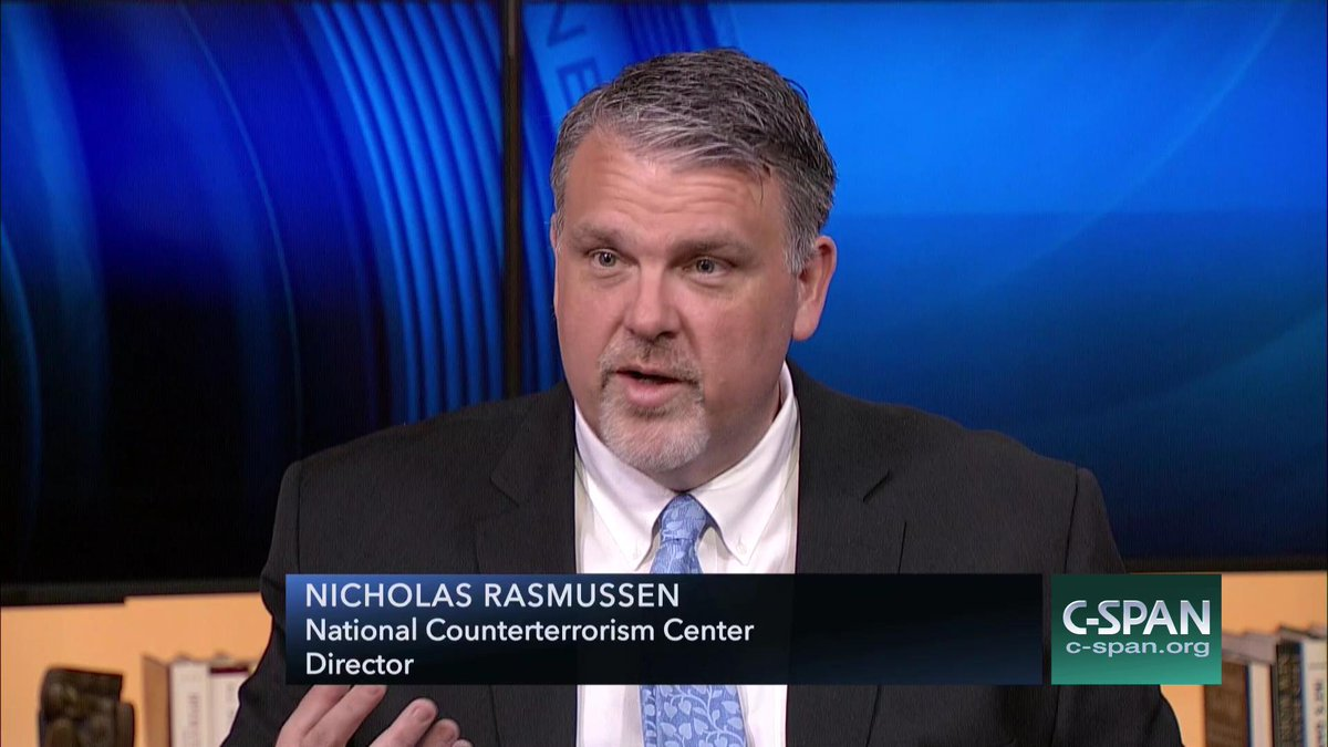 #Newsmakers w/ @ODNIgov Director Nicholas Rasmussen, questions from @debriechmann &  – N@ByBrianBennettOW on C-SPAN https://t.co/83eJjsDPrZ