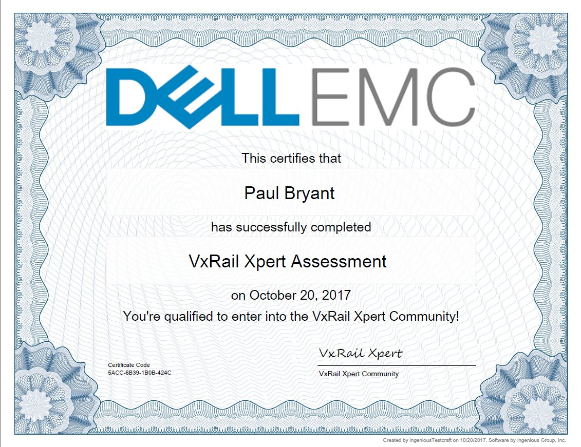 @sakacc @DellEMC I just joined the #VxRailXpert community.  #vSAN #HCI #VxRail #DellEMC #HyperConverged<br>http://pic.twitter.com/IycVx5rXZe