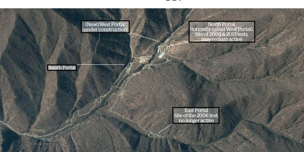 Have North Korea's nuclear tests become so big that they've altered the geological structure of the land? https://t.co/CeO5lxEHIh