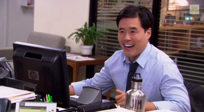 Happy birthday John Krasinski, also known as Jim from The Office