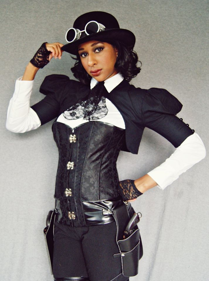 My interview with Ariel Dixon, including her #Steampunk #Bolliwood #cosplay. https://t.co/ht8kqEWq8m