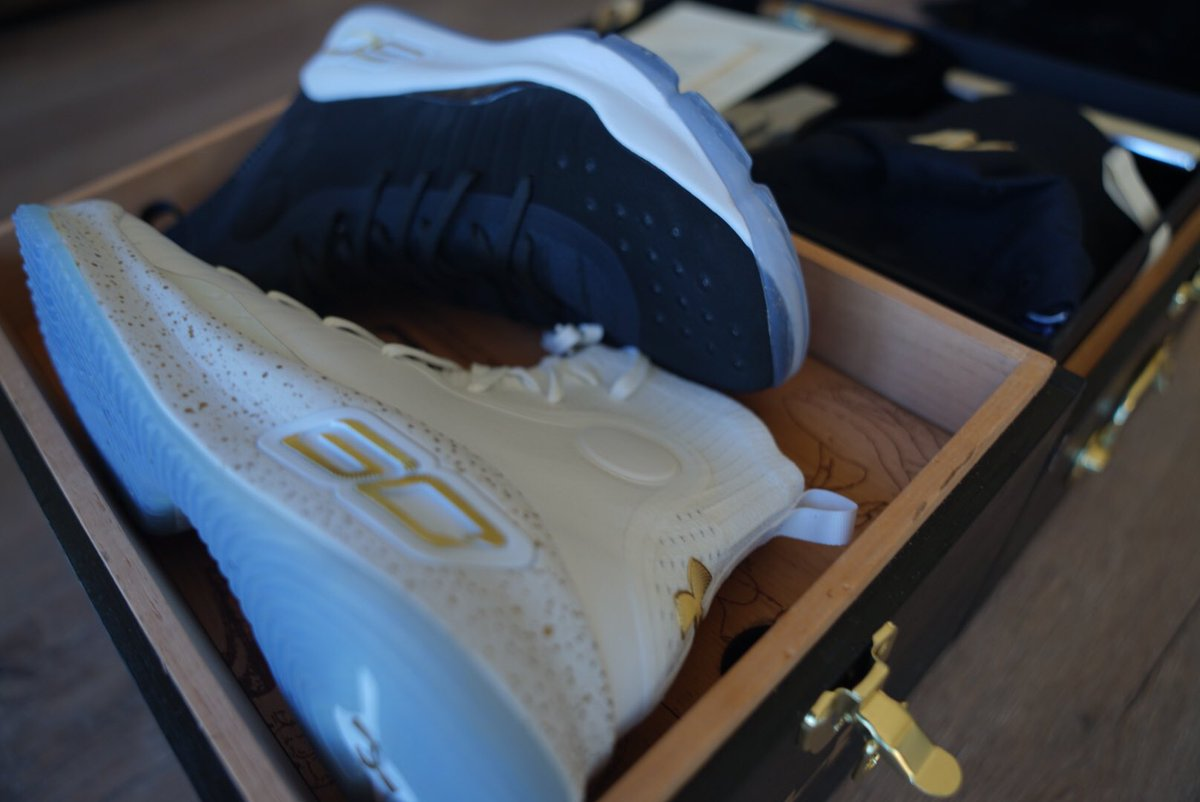 c6cc627fba19 unboxing the under armour curry 4 more rings champ pack for stephencurry30  that cigar though lancefresh