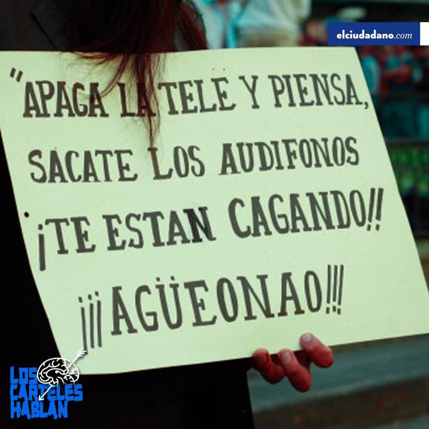 #LosCartelesHablan  @El_Ciudadano https:...