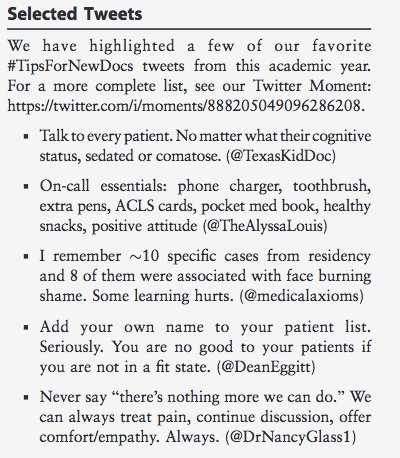 What a fantastic article on many levels! #Networking, #SoMe, #MedEd all in one. #TipsForNewDocs  http://www. jgme.org/doi/pdf/10.430 0/JGME-D-17-00723?code=gmed-site &nbsp; …  HT @tony_breu<br>http://pic.twitter.com/vaVZ3Gd2XL