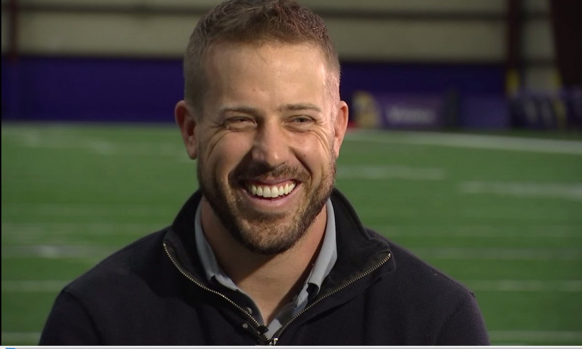 Coming up Sunday on VikingsGameDayLive I chat w QB @casekeenum7 he's getting the start looking to keep his win streak going! Sneakpeek2nite