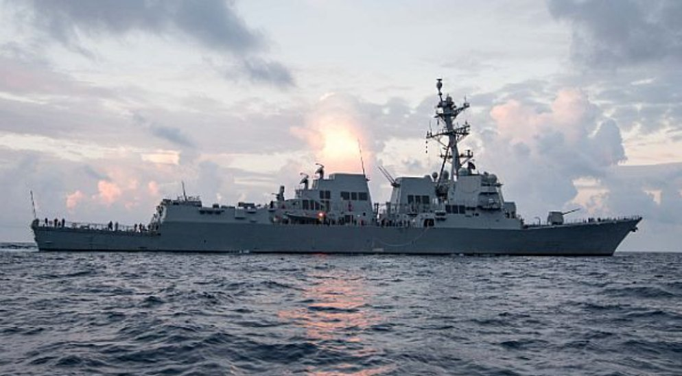 Future #USSRalphJohnson (DDG 114) to be commissioned in #Charleston, South Carolina, March 24, 2018 -  http:// go.usa.gov/xnY2F  &nbsp;  <br>http://pic.twitter.com/IMb0JVMvap