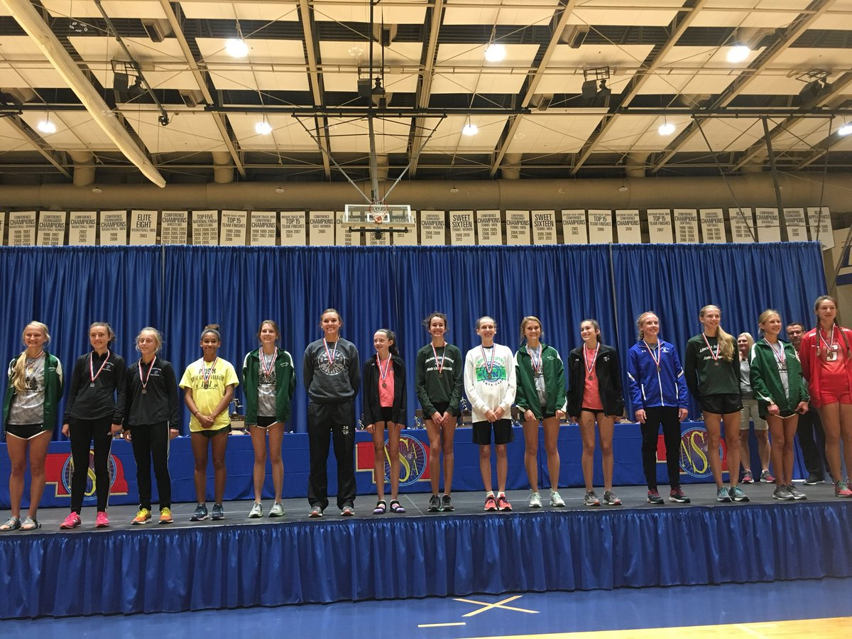 Congrats to our medalists! Girls with 4 in top 14 and 5 in top 17 with Gabby as state champ! Boys with Quigs and Mason in 8th and 10th! #b2b <br>http://pic.twitter.com/oBjpRFL9Py