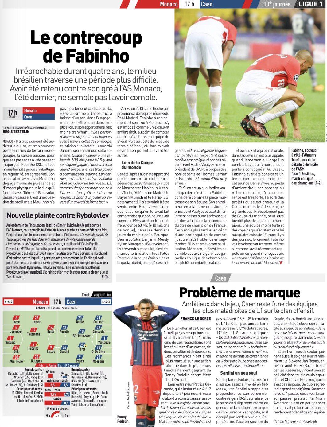 [10e journée de L1] AS Monaco 2-0 SM Caen DMnUf6NX4AEkN_m