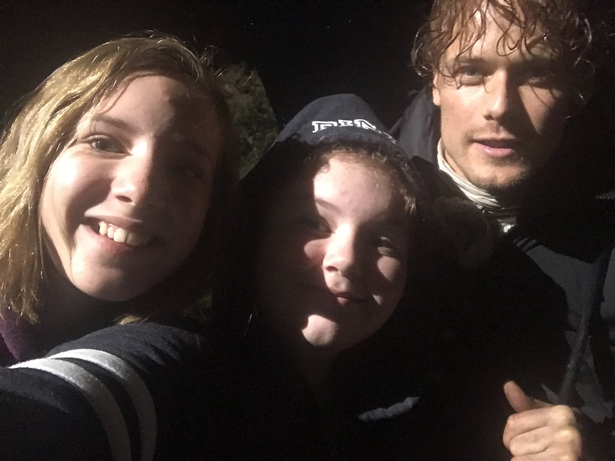 We got selfies! @SamHeughan thanks for taking the time #outlander #scotland <br>http://pic.twitter.com/elQrpSixUT