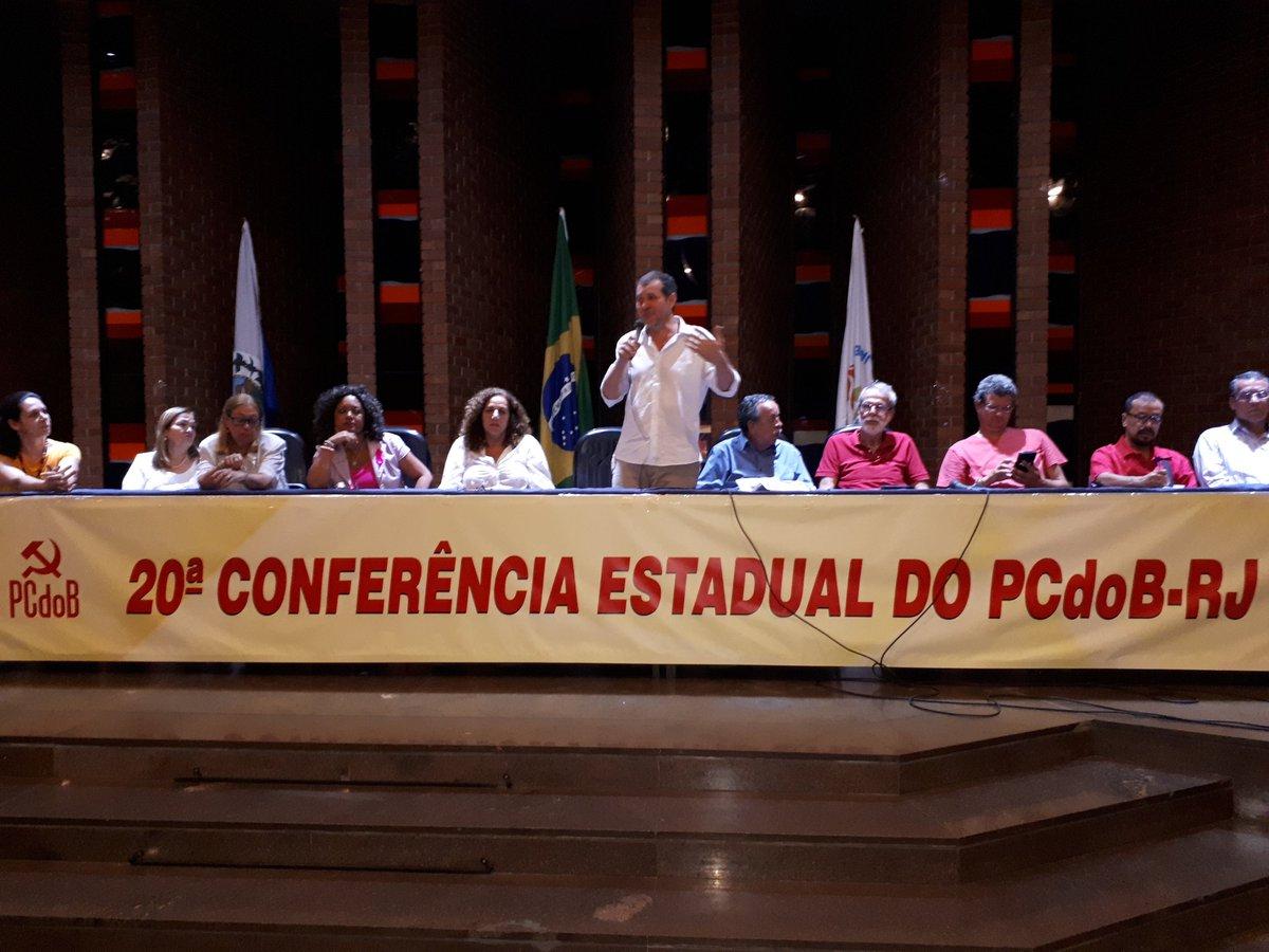#eqp Jandira participa da 20° Conferência Estadual do PCdoB/RJ. https:...