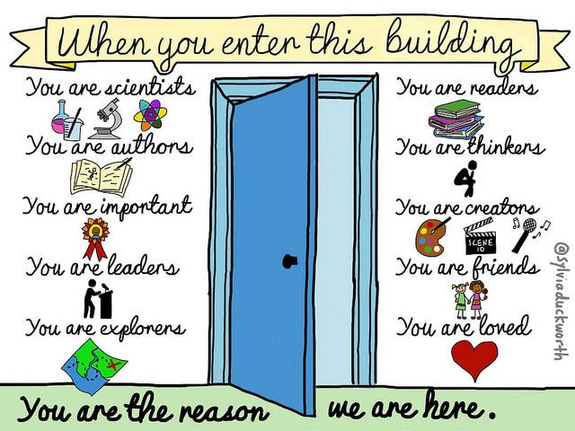 Shoutout to everything you empowered your Ss to be this week! (#SketchNote via educator @sylviaduckworth)<br>http://pic.twitter.com/OrC8BRxfwi