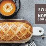 Join us tomorrow for gourmet tastings feat. our authentic Sourdough & @TeamHappyPlanet soup. Find your bakery! https://t.co/QrXeqXBBGd