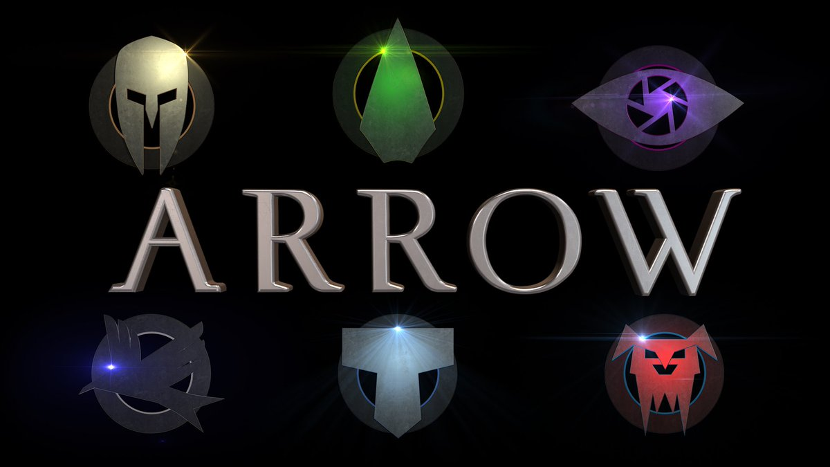 Arrow On Twitter Can You Name All Of The Symbols Arrow