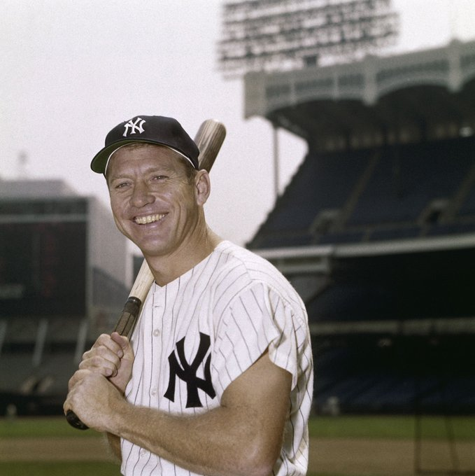 Happy birthday to the great Mickey Mantle