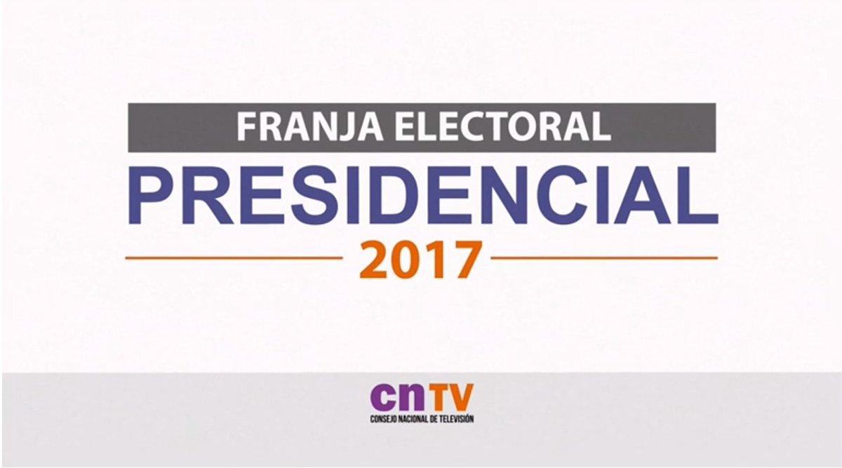 VIDEO | Revive el estreno de la #FranjaElectoral presidencial https://...