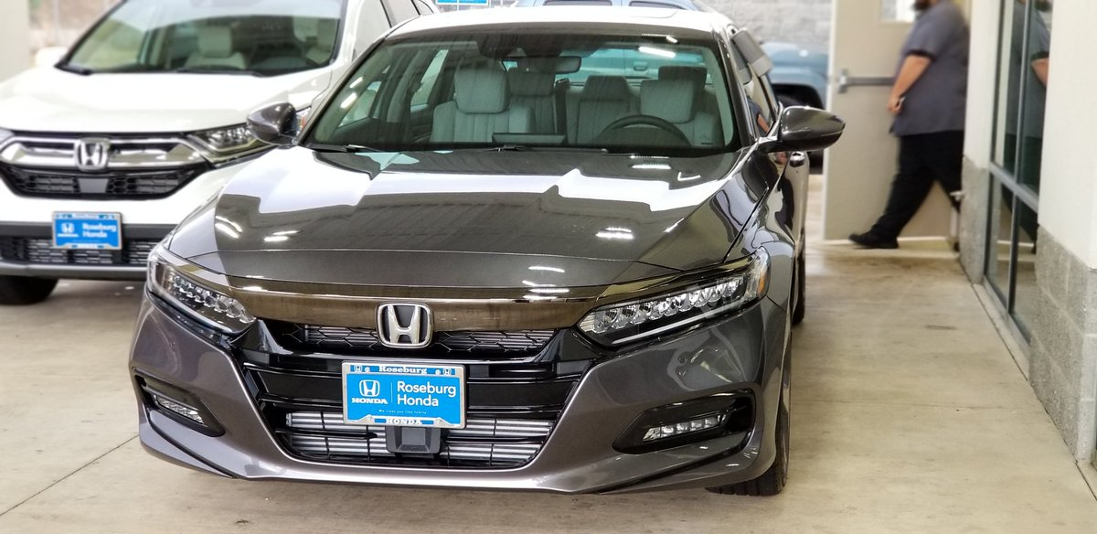Even when the rain is coming down, the all new 2018 @honda #Accord looks great! <br>http://pic.twitter.com/3ZXw1shO5l