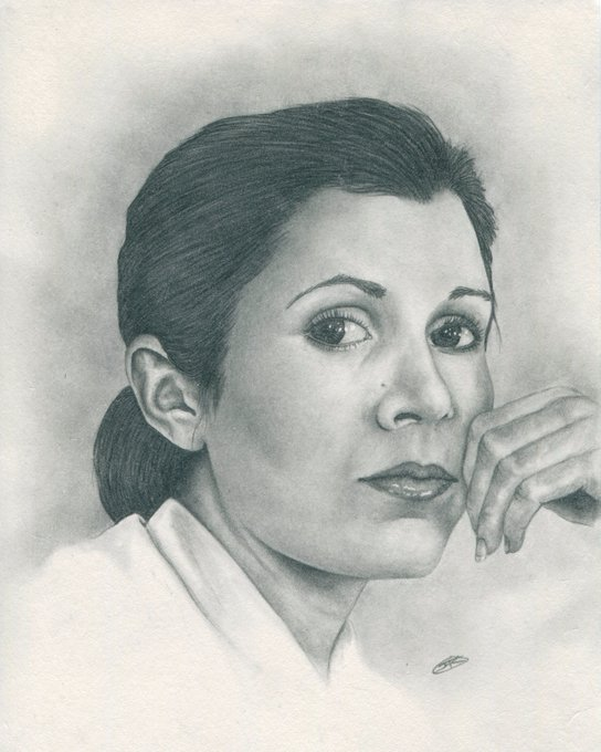 Carrie Fisher would have been 61 today, Happy Birthday to a fucking legend.