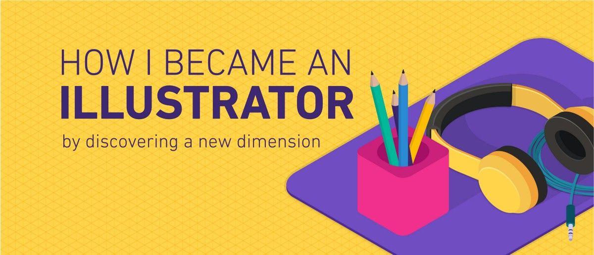 我(工程师)怎么变成了插画师? // How I became an Illustrator by discovering a new dimension https://t.co/EYhY3Mfsn8 https://t.co/dSsvlEKMep 1