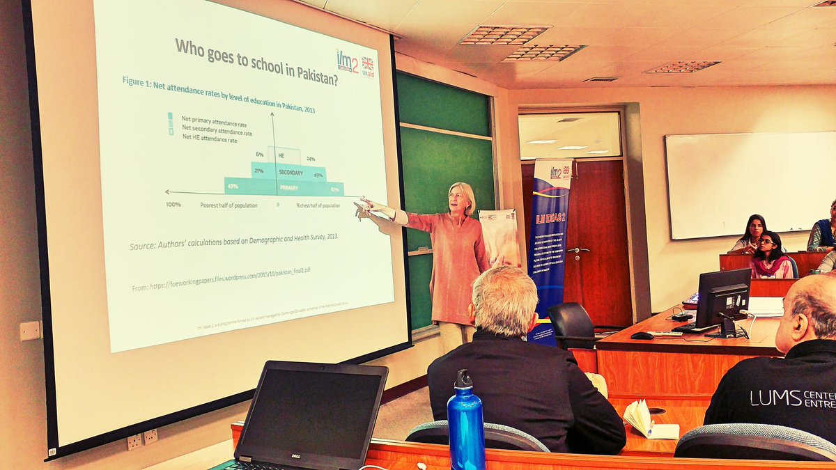 #Educational #Startup #Workshop at LUMS has begun with Helen reviewing Educational landscape in Pakistan #SocEnt #SocialImpact #Innovation<br>http://pic.twitter.com/xHPtXFdL0n