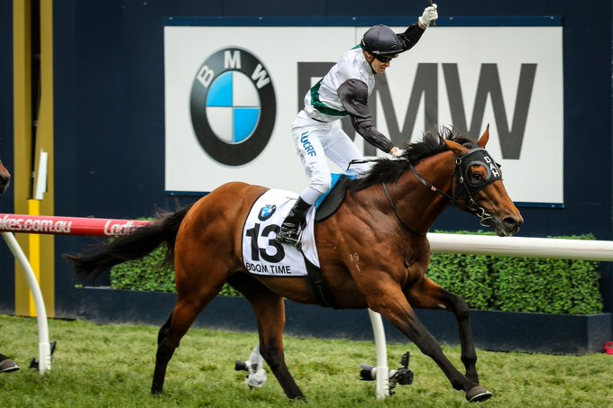 2017 Caulfield Cup: Boom Goes Boom Time