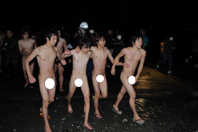 裸祭り 美浜