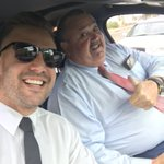 With my bro @therealbigmarn on our way to Centrelink....