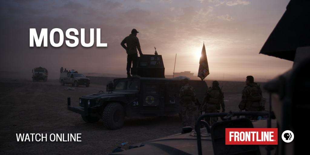Go inside the grueling nine-month battle to drive ISIS out of Iraq's second-largest city in 'Mosul.' WATCH: https://t.co/azW63cH0Tz