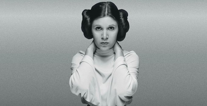 Happy Birthday Here re Princess Leia s most iconic scenes in