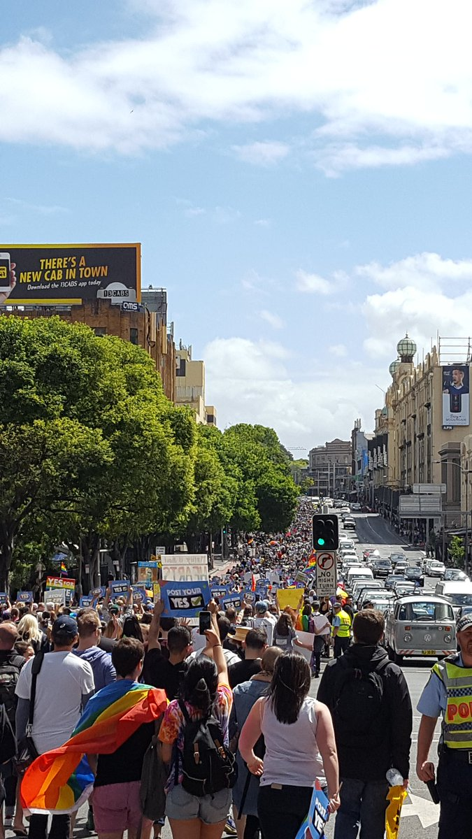 Fab turnout for the Sydney #marriageequa...