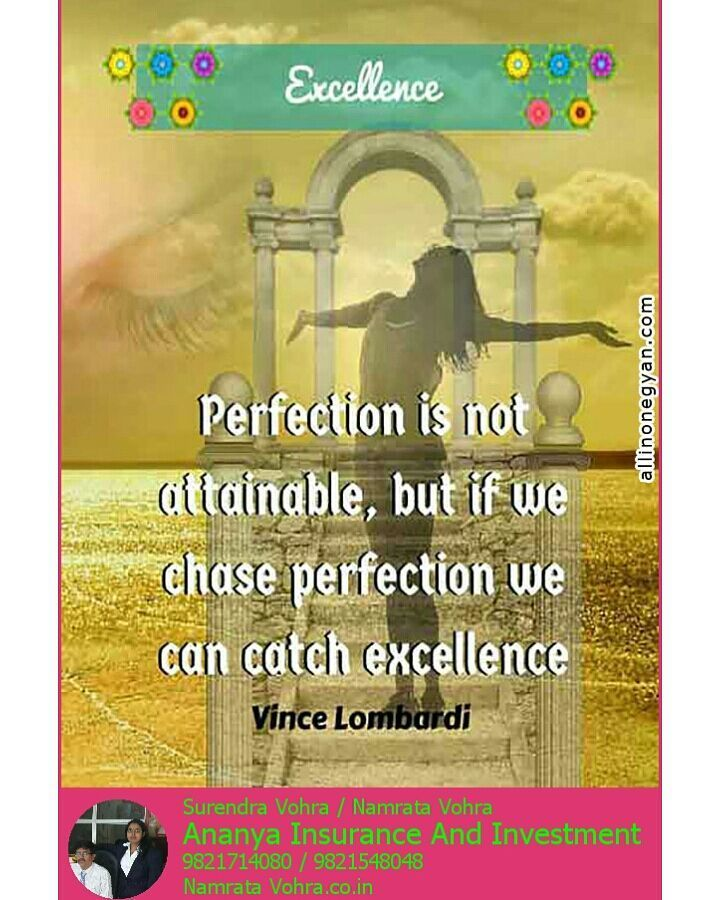 EXCELLENCE  #Perfection #Attainable #Excellence #VinceLombardi   http:// ift.tt/2zrArxQ  &nbsp;  <br>http://pic.twitter.com/jcKGih8yC3