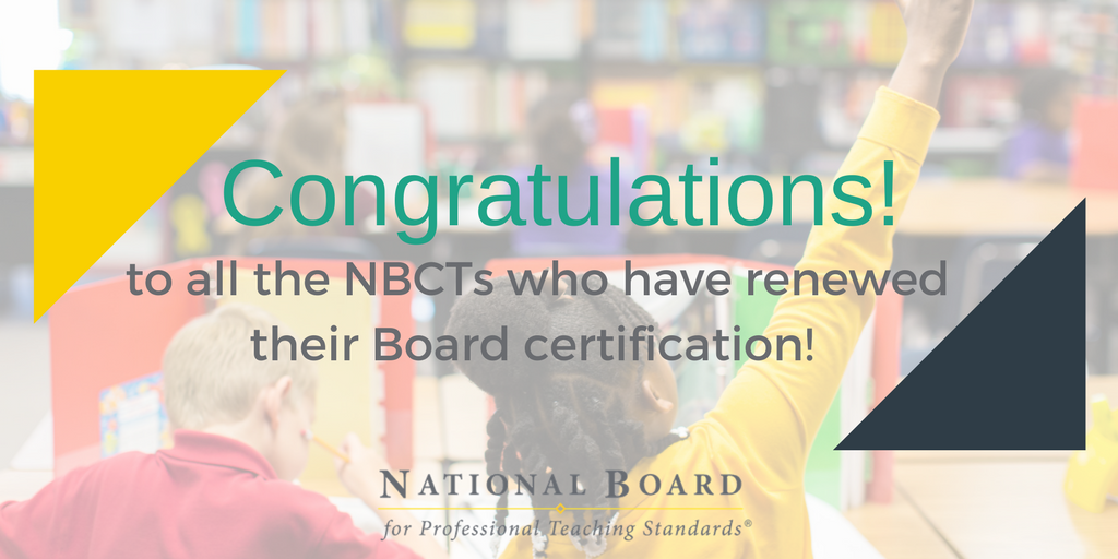National Board On Twitter Congratulations To Thousands Of Teachers