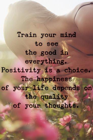 'POSITIVITY' #ThinkBIGSundayWithMarsha #...