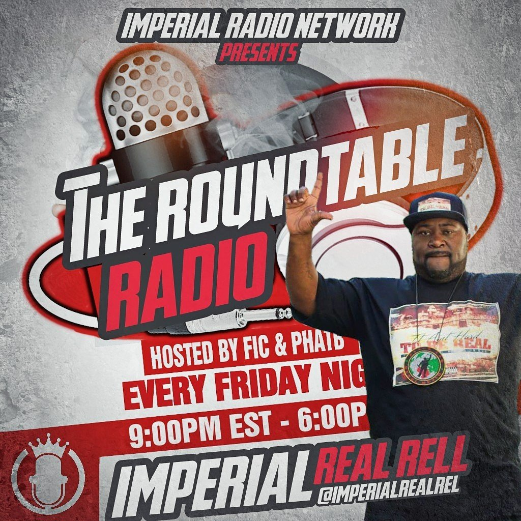 Missed tonight&#39;s episode of #TheRoundtable w/ special guest @ImperialRealRel? Catch up now  #rap #hiphop #interview   http:// mixlr.com/imperial-radio /showreel/the-roundtable-episode-86-w-imperial-real-rell &nbsp; … <br>http://pic.twitter.com/9SxDon5Ilk