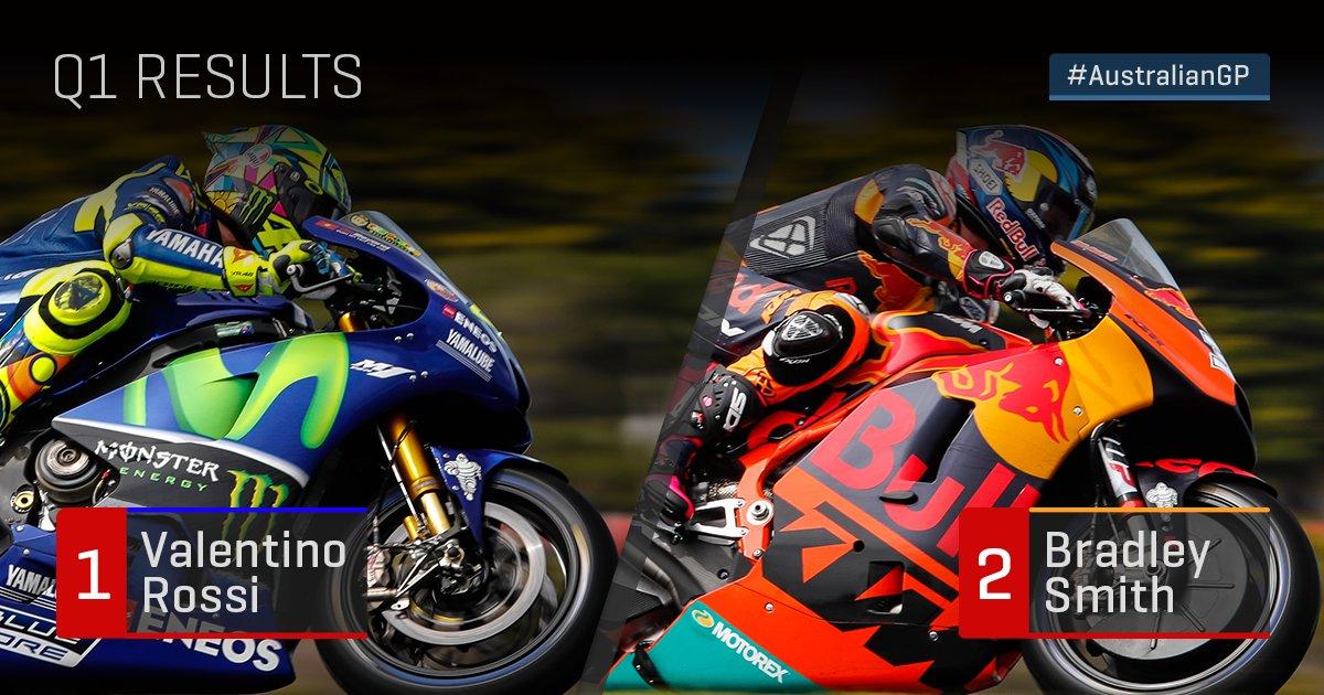 Hasil Kualifikasi MotoGP Australia: Lorenzo Posisi 17, Rossi Melaju ke Q1