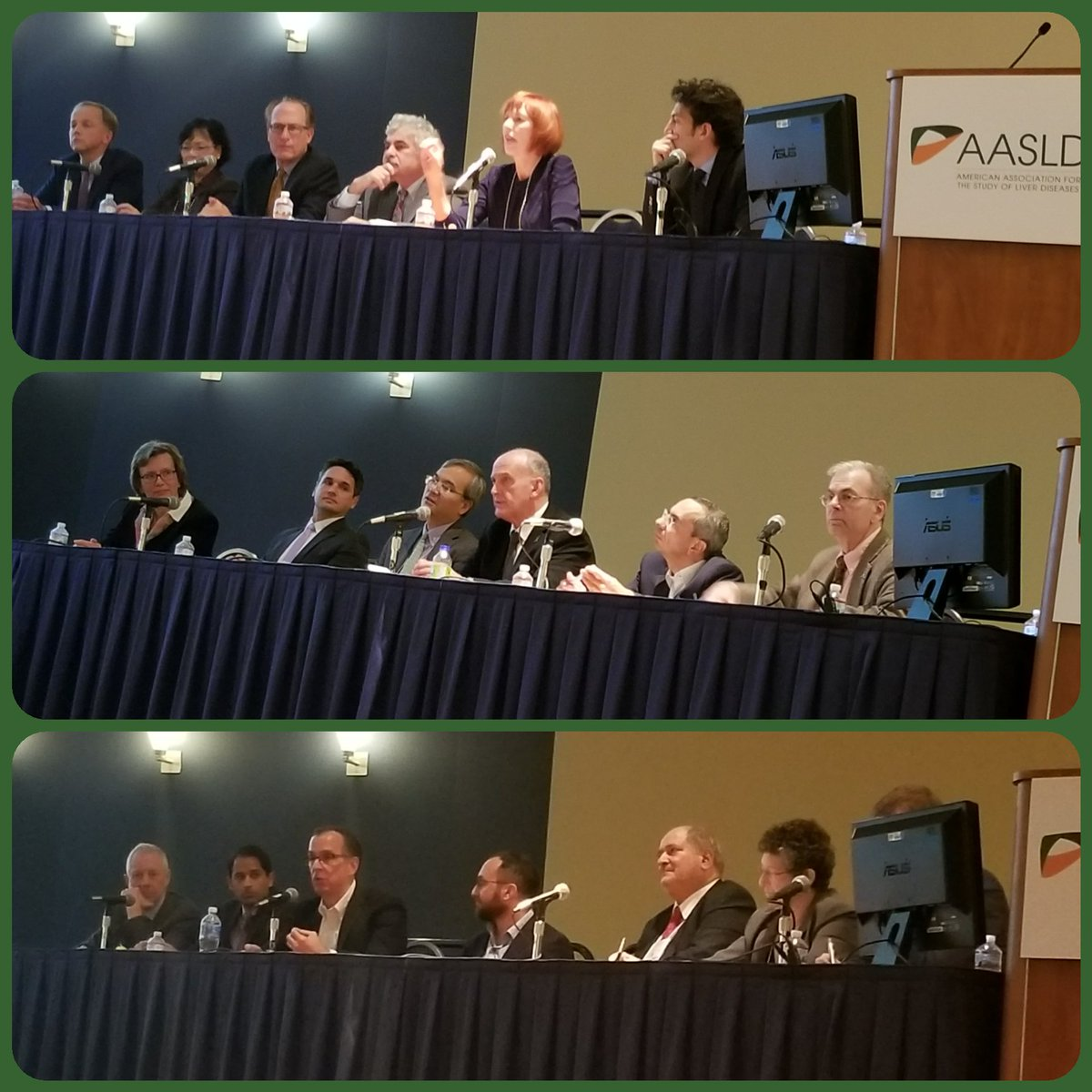A panel of the excellent panelists at Getting to #HBV Cure session. I was honored to intro w #NOhep &amp; importance of #Advocacy #LiverMtg17<br>http://pic.twitter.com/wqYz6rHXii
