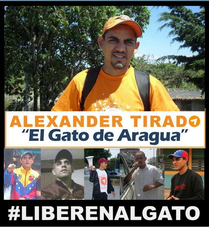 #23Oct @ElGatoDeAragua lleva 1312 días DETENIDO Y CONDENADO x protesta...