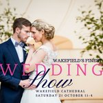 We're exhibiting today at @wakefieldcath 11-4pm with @WeddingAffair, pop in to see us! Free entry & Gift bags. #weddingfair #engaged