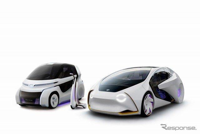 トヨタ、AI搭載のEVコンセプト「愛i」シリーズ新型を東京モータショーに出展へ https://t.co/2XnVrE5AdS  #トヨタ #愛iシリーズ新型 #東京