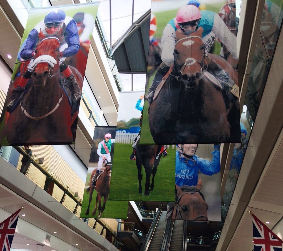 Melted at Royal Ascot, lightning at Epsom, drenched at Goodwood & now blown away at Ascot. But can't wait! The Big Finale live on ITV at 1pm